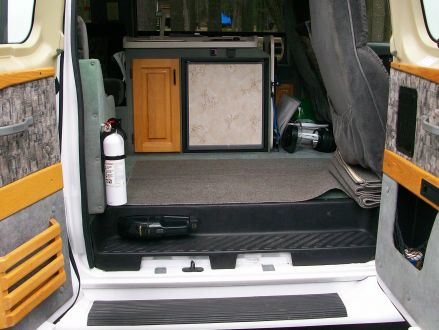Curtains Ideas Conversion Van Excellent Condition White 2000 Ford Econoline JAYCO CONVERSION