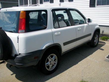 good condition white 2000 honda cr v ex in tiverton rhode island. Black Bedroom Furniture Sets. Home Design Ideas