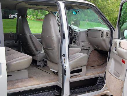 Clean Condition Silver 1999 Chevrolet Astro Awd Ls In Kalamazoo Michigan