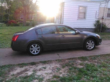 excellent condition gray 2005 nissan maxima in memphis. Black Bedroom Furniture Sets. Home Design Ideas