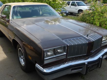 Average condition brown 1977 oldsmobile cutlass salon in for 1977 oldsmobile cutlass salon