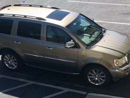 Excellent Condition Gold 2007 Chrysler Aspen Limited In Escondido