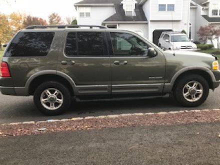 2002 Ford Explorer Xlt >> Good Condition Green 2002 Ford Explorer Xlt In Branchburg