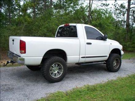 img_1 - White Dodge Truck 2005